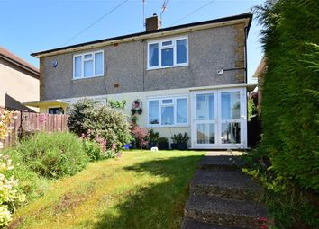 Thumbnail 2 bed semi-detached house for sale in Crestway, Chatham, Kent