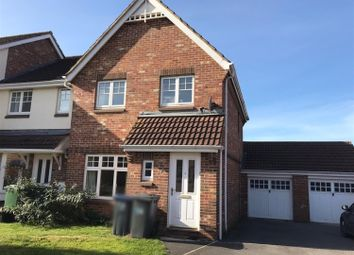 Thumbnail 3 bed end terrace house to rent in Boulton Close, Westbury