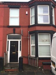 Thumbnail 3 bedroom shared accommodation to rent in Portman Road, Wavertree, Liverpool