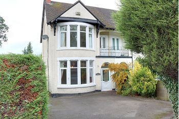 Thumbnail 4 bedroom semi-detached house for sale in Crewe Road, Wistaston, Crewe, Cheshire