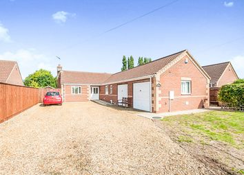Thumbnail 3 bed detached bungalow for sale in Field Avenue, Tydd St. Giles, Wisbech