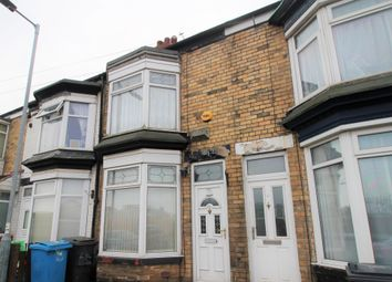 Thumbnail 2 bed terraced house for sale in Frodsham Street, Hull