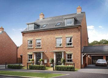 """Thumbnail 3 bed semi-detached house for sale in """"Padstow"""" at Broughton Crossing, Broughton, Aylesbury"""