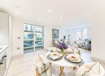 Thumbnail 2 bed flat for sale in Devonhurst Place, Heathfield Terrace, Chiswick, London