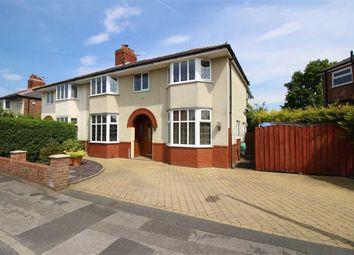 Thumbnail 4 bed semi-detached house for sale in Crookings Lane, Penwortham, Preston