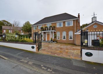 Thumbnail 4 bed detached house for sale in The White House, Old Hall Lane, Whitefield, Manchester
