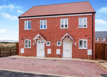 Thumbnail 2 bed semi-detached house for sale in 4 Bunting Drive, Diss