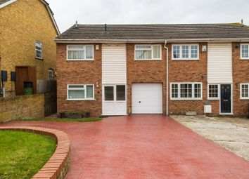 Thumbnail 4 bed semi-detached house for sale in School Lane, Higham, Rochester