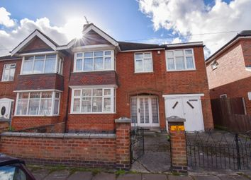 Thumbnail 4 bed semi-detached house to rent in Kimberley Road, Leicester