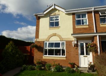 Thumbnail 3 bed semi-detached house for sale in Emes Close, Pershore