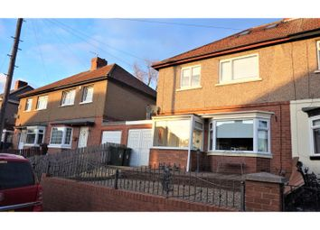 Thumbnail 4 bed semi-detached house for sale in Benwell Grange Terrace, Newcastle Upon Tyne