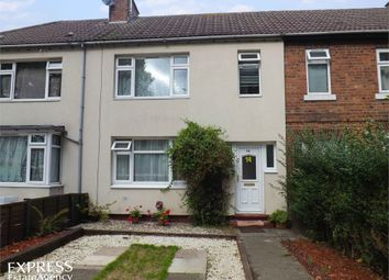 Thumbnail 2 bed terraced house for sale in Kettell Avenue, Crewe, Cheshire