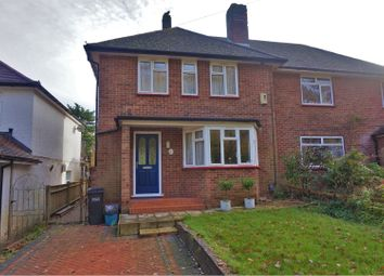Thumbnail 3 bed semi-detached house for sale in Rickman Hill, Coulsdon