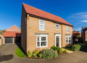 Thumbnail 5 bed detached house for sale in Hampden Way, Greylees, Sleaford, Lincolnshire