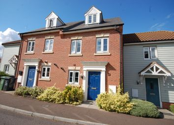 Thumbnail 3 bed town house for sale in Chalk Close, Thetford