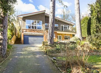 Thumbnail 4 bed detached house for sale in Shadyhanger, Godalming, Surrey