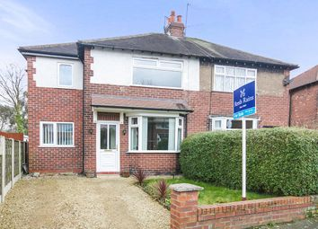 Thumbnail 3 bed semi-detached house for sale in Highfield Park Road, Bredbury, Stockport