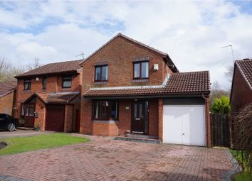 Thumbnail 4 bed detached house for sale in Hudson Close, Warrington
