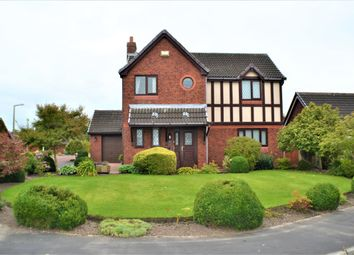 Thumbnail 4 bed detached house for sale in The Oaks, Walton Park, Preston