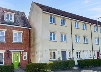 Thumbnail 4 bed end terrace house to rent in Thestfield Drive, Staverton, Trowbridge