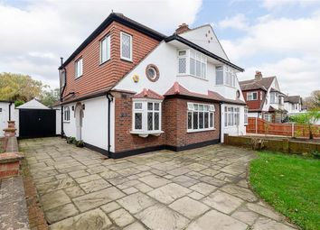 Thumbnail 4 bed semi-detached house for sale in Palmer Avenue, Cheam, Surrey