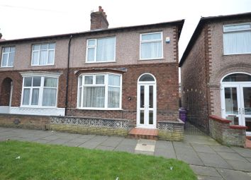 Thumbnail 3 bedroom semi-detached house for sale in Rosedale Road, Mossley Hill, Liverpool