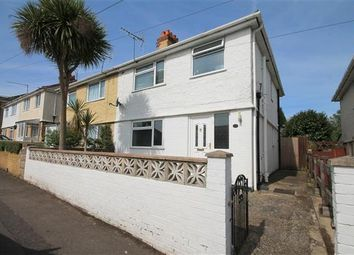 Thumbnail 3 bed semi-detached house to rent in Library Road, Parkstone, Poole