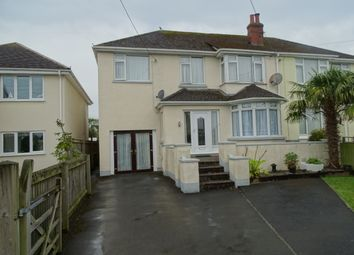 Thumbnail 5 bed semi-detached house for sale in Lynhurst Avenue, Sticklepath, Barnstaple