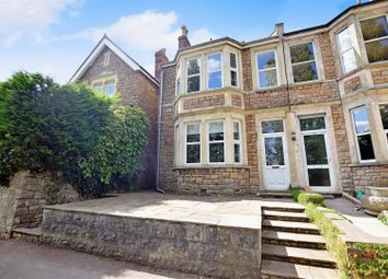 Thumbnail 5 bedroom semi-detached house for sale in Leigh View Road, Portishead, Bristol