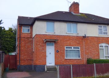 Thumbnail 3 bedroom semi-detached house for sale in Duncan Road, Leicester