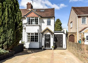 Thumbnail 3 bed semi-detached house for sale in Denham Way, Maple Cross, Hertfordshire