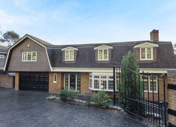 Thumbnail 5 bedroom detached house for sale in St. Catherines Road, Frimley, Camberley