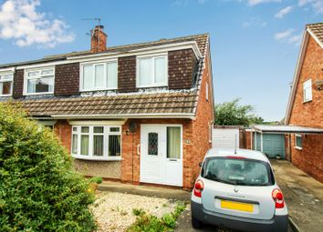 Thumbnail 3 bed semi-detached bungalow for sale in Hallgarth Close, Acklam, Middlesbrough, North Yorkshire