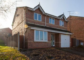 Thumbnail 4 bed detached house for sale in Mossfield Drive, Biddulph, Stoke-On-Trent