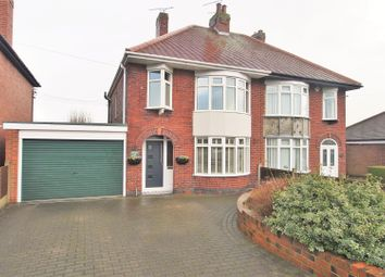 Thumbnail 3 bed semi-detached house for sale in Clowne Road, Barlborough, Chesterfield
