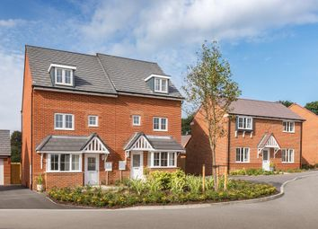 "Thumbnail 4 bed semi-detached house for sale in ""Woodvale"" at Robell Way, Storrington, Pulborough"