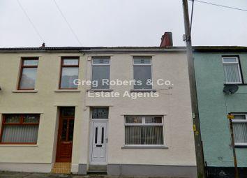 Thumbnail 3 bed terraced house for sale in Church Street, Tredegar, Blaenau Gwent.