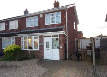 Thumbnail 3 bed semi-detached house for sale in Lochmore Close, Hinckley