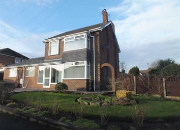 Thumbnail 3 bedroom detached house for sale in Scott Road, Denton, Manchester