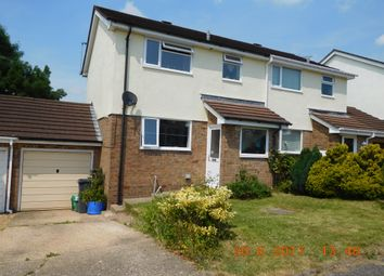 Thumbnail 3 bedroom semi-detached house to rent in Haydons Park, Honiton