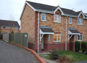 Thumbnail 2 bed semi-detached house to rent in Saundersfoot Way, Oakwood, Derby