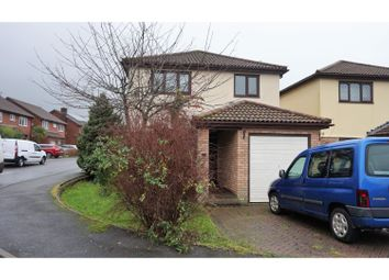 Thumbnail 3 bed detached house for sale in Woodstock Gardens, Pencoed