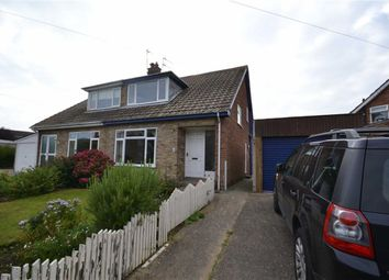 Thumbnail 2 bedroom semi-detached house to rent in Ranby Drive, Hornsea, East Yorkshire