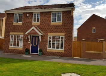 Thumbnail 4 bedroom detached house for sale in Curbar Close, Mansfield