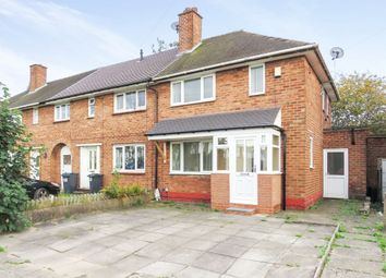 Thumbnail 2 bed end terrace house for sale in Hurst Lane, Shard End, Birmingham