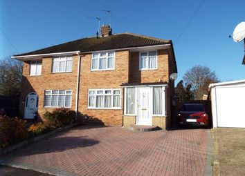 Thumbnail 3 bedroom semi-detached house for sale in Collingtree, Luton, Bedfordshire
