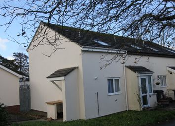 Thumbnail 1 bed end terrace house to rent in Venford Close, Paignton
