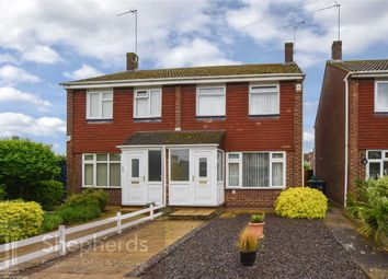 Thumbnail 3 bedroom semi-detached house for sale in Stoneleigh Drive, Hoddesdon, Hertfordshire