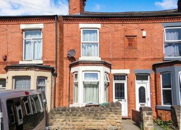 Thumbnail 2 bedroom terraced house for sale in Strelley Street, Bulwell, Nottingham