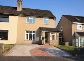 Thumbnail 3 bed semi-detached house for sale in Heol Miles, Pontyclun